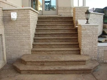 Concrete Steps Outdoor Stair Design Height The Concrete Network | Repairing Outdoor Wooden Steps | Staircase | Patio | Concrete Slab | Front Porch | Stringer