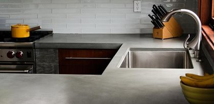 kitchen cabinets santa ana ca red appliances concrete countertop color options and samples - the ...
