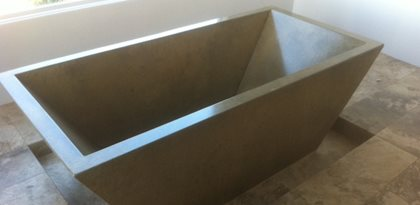 Concrete Sink Tub and Shower Project Profiles  The