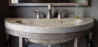 Concrete Sinks Style and Function of Pedestal Sinks  The