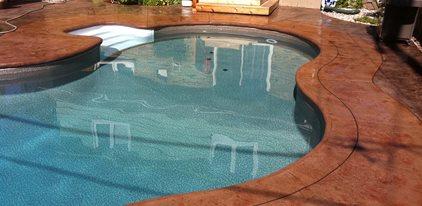Concrete Pool Deck Design Ideas The Concrete Network
