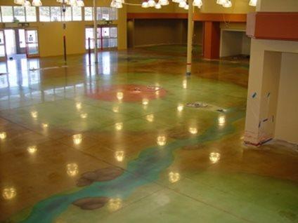 Reflective Concrete Floors  The Concrete Network