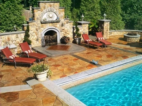 stamped concrete colors how to pick