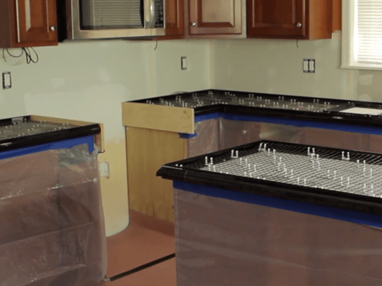 concrete countertop forms molds for