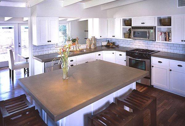 Kitchen Concrete Countertops  The Concrete Network