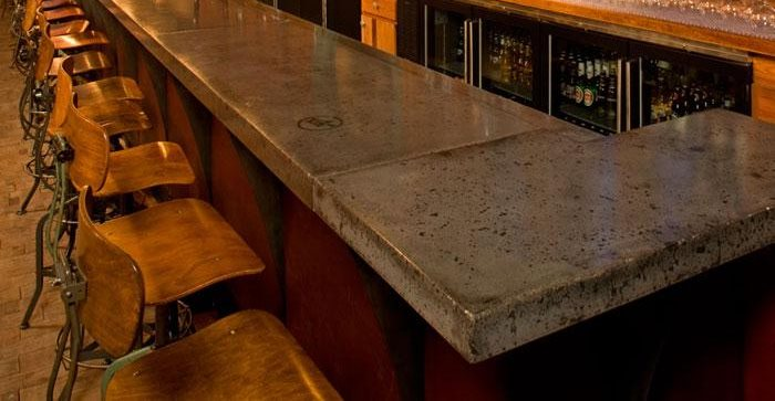 Concrete Countertops in Restaurants and Bars  The Concrete Network