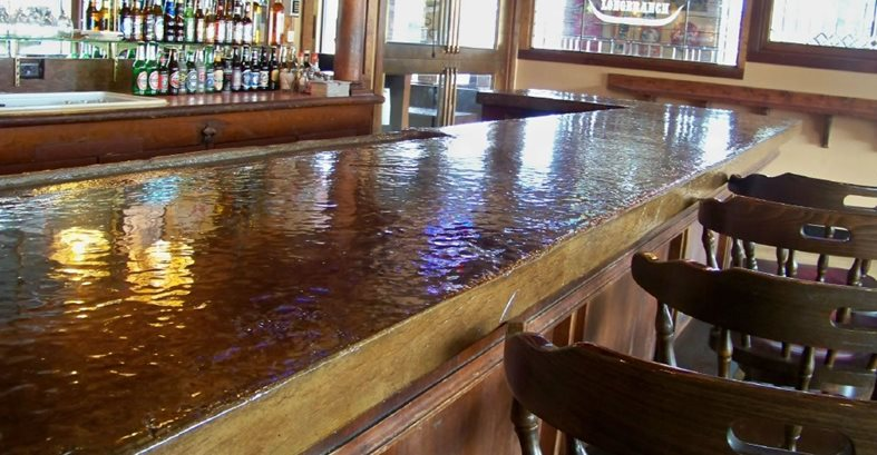Concrete Countertops in Restaurants and Bars  The Concrete Network