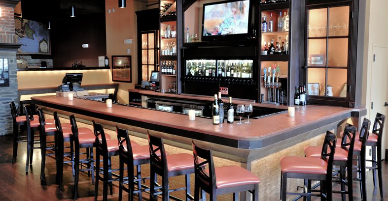 Decorative Concrete Bar Tops