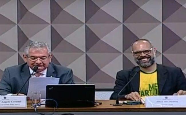 Cpi Das Fake News Ouve O Blogueiro Allan Dos Santos