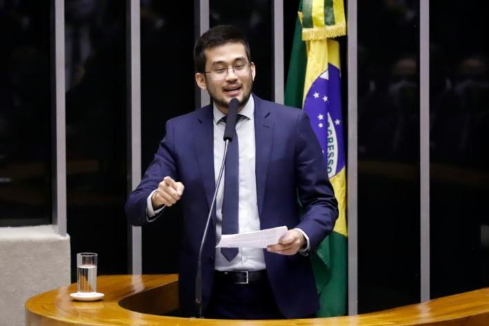 Kim, durante discurso na eleição da mesa <div class='fotografo'>Cleia Viana/Agência Câmara</div>