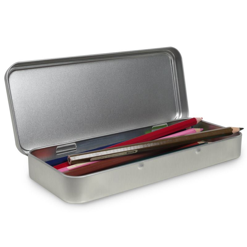 Personalised Pencil Box Custom Photo Pencil Tin Box