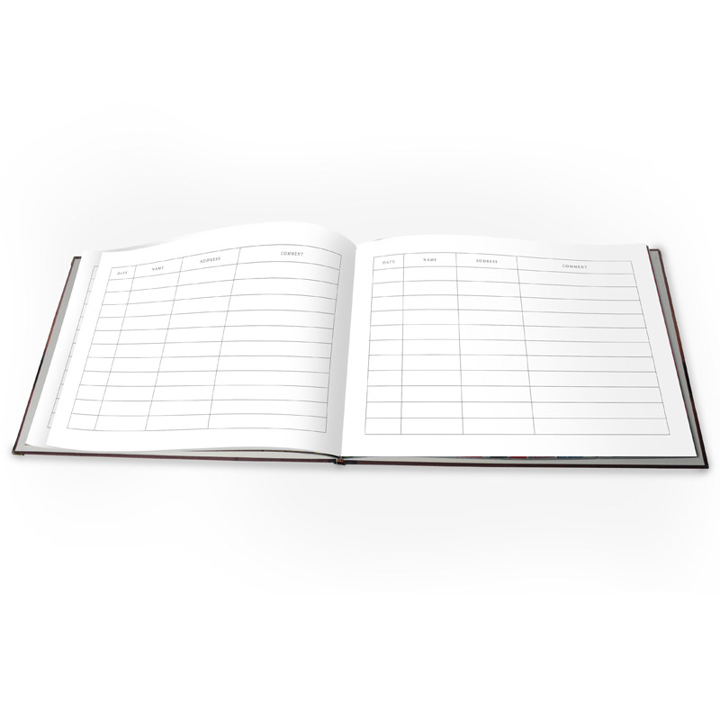 Custom Guest Book: Design Your Own Guest Book