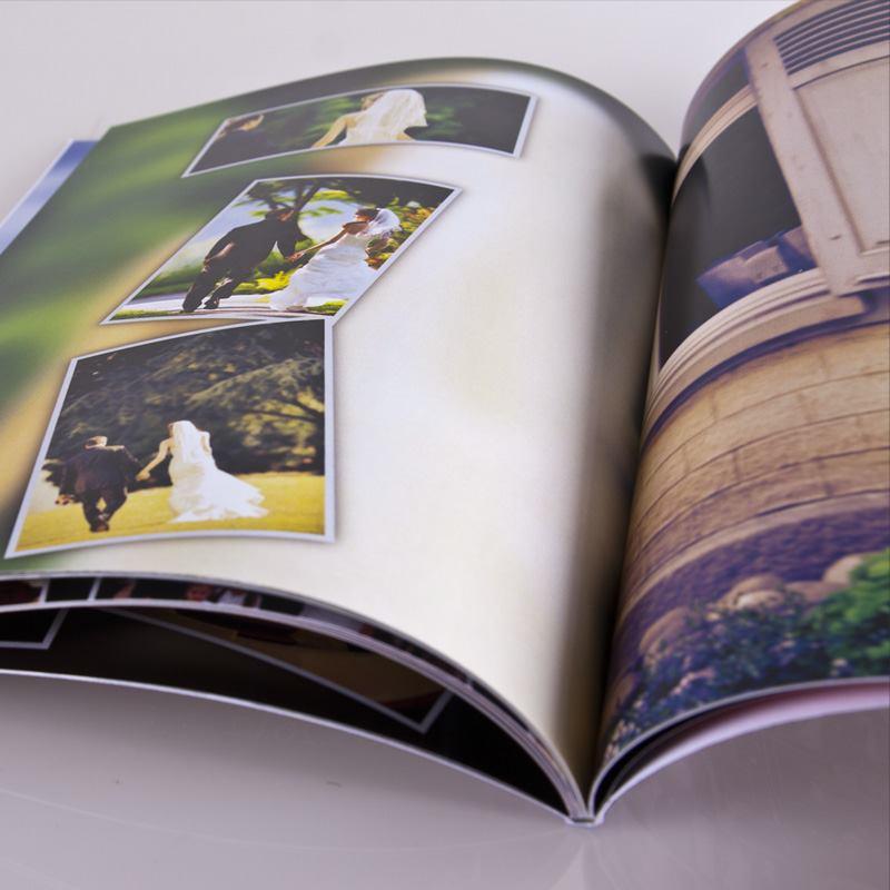 A4 Photo Book Soft Cover Magazine Style Photo Book