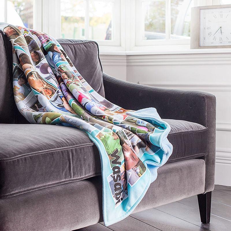 photo blanket custom picture