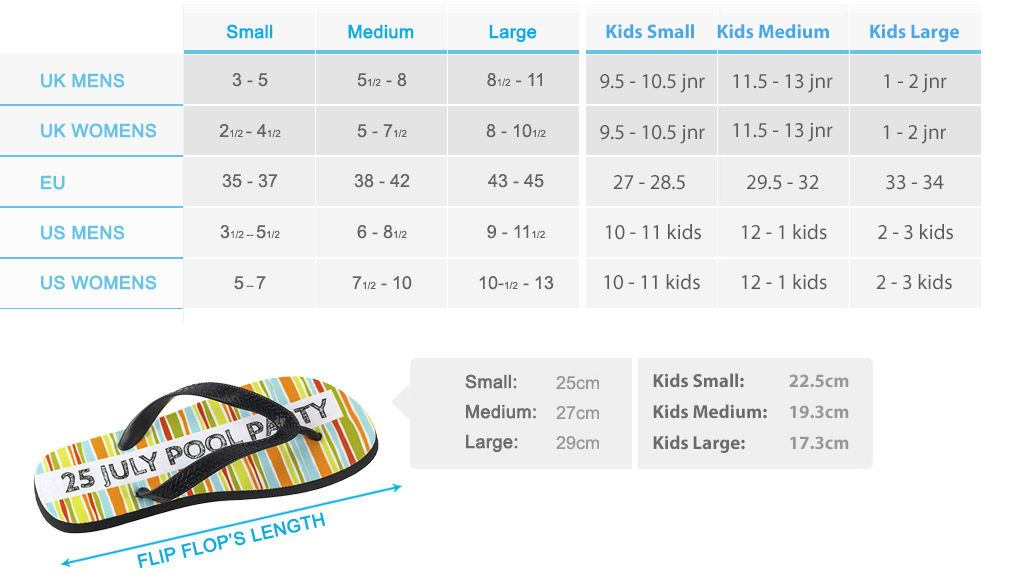 9492a7c12b5e10 √ Personalised Flip Flops. Custom Flip Flops Printed in the UK