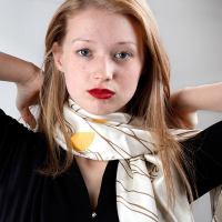 Personalized Scarf. Custom Printed Scarves With Your Design