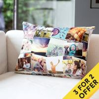 Custom Cushion With Photo. Personalized Pillow With