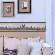 Living Room Wallpaper Border Designs