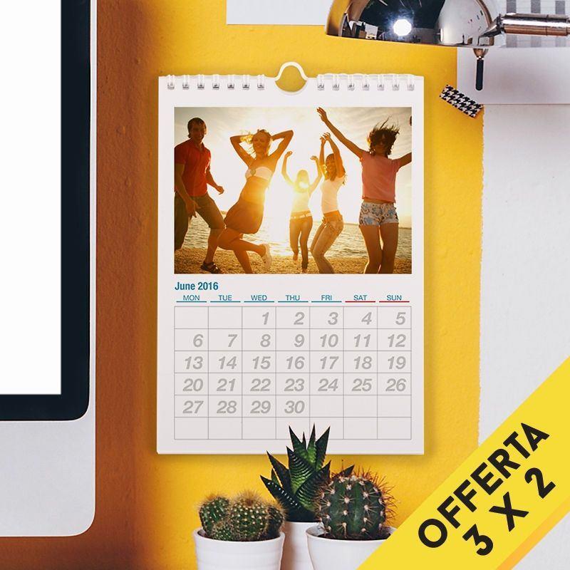 Calendario Personalizzato Con Foto Calendari Da Muro