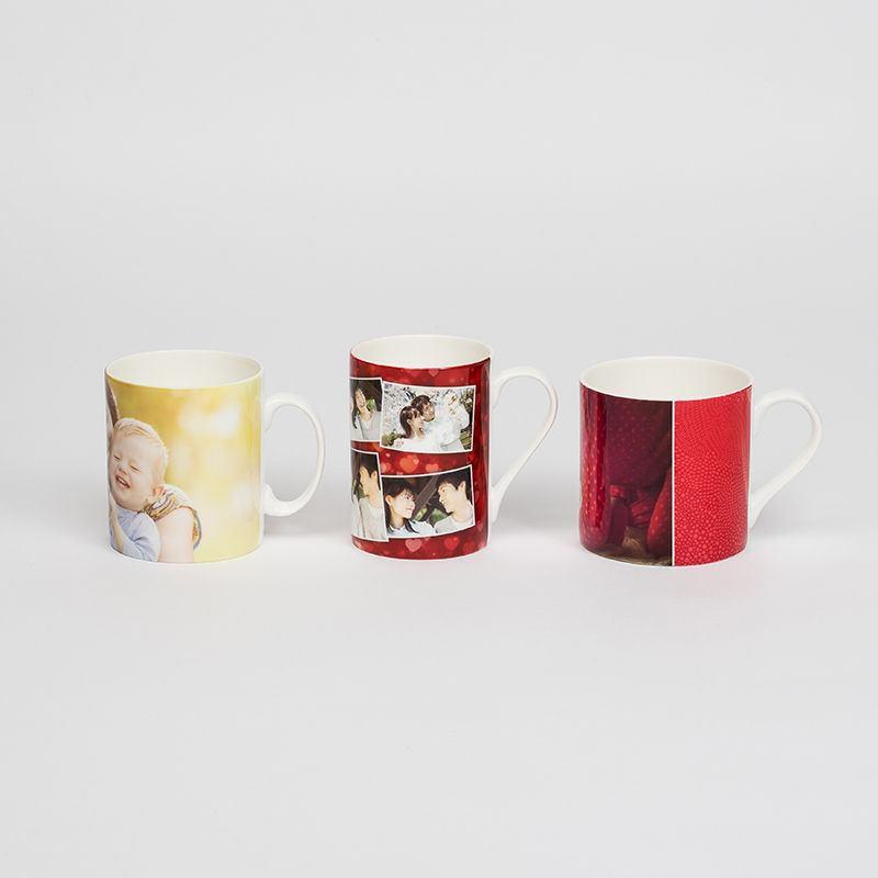 kitchen wall murals upper cabinets personalised china mugs. fine bone mugs ...