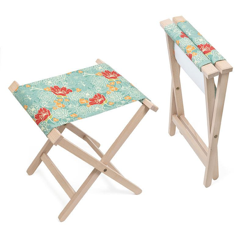 double camping chairs folding pretty bedroom canvas chair: personalised stools uk