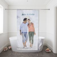 Design Your Own Shower Curtain | Custom Printed Shower Curtain