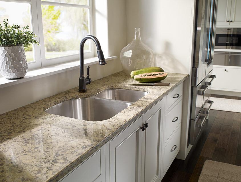 kitchen countertops quartz cabinets decor silestone vs granite previousnext