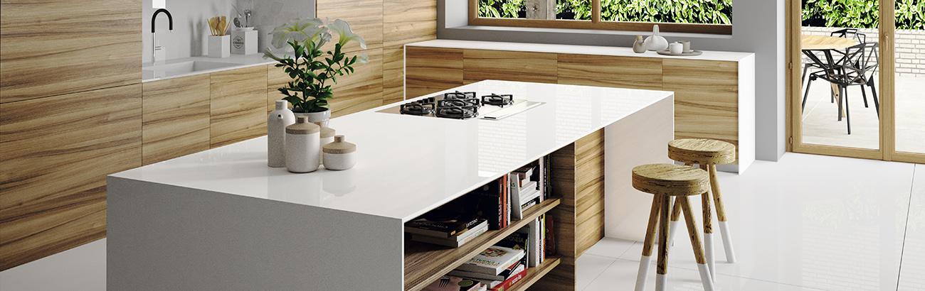 White Essentials Furor por las cocinas blancas