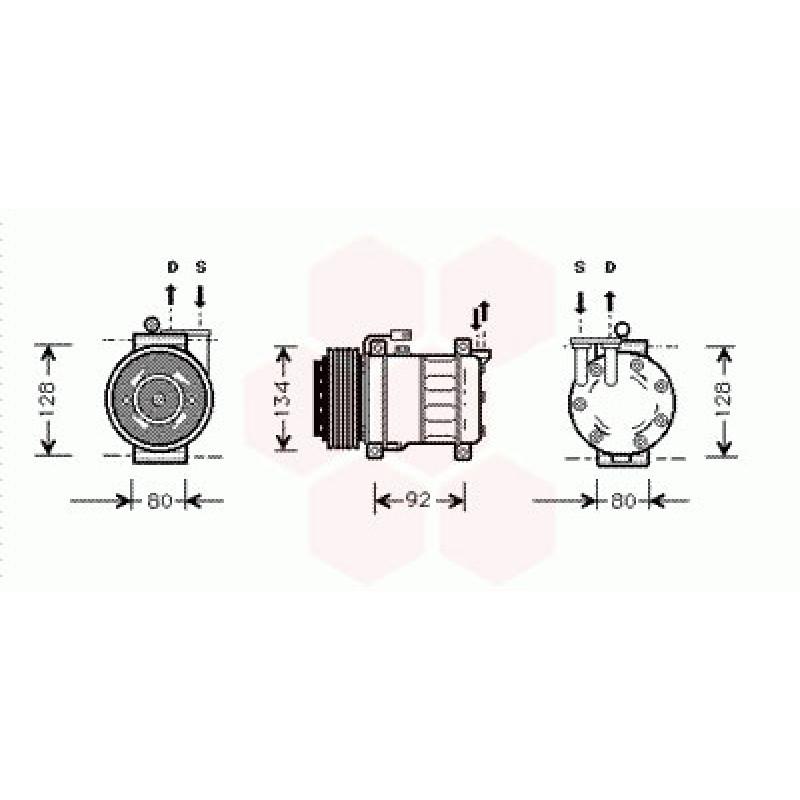 Compresseur Climatisation Alfa Romeo 145 / 146