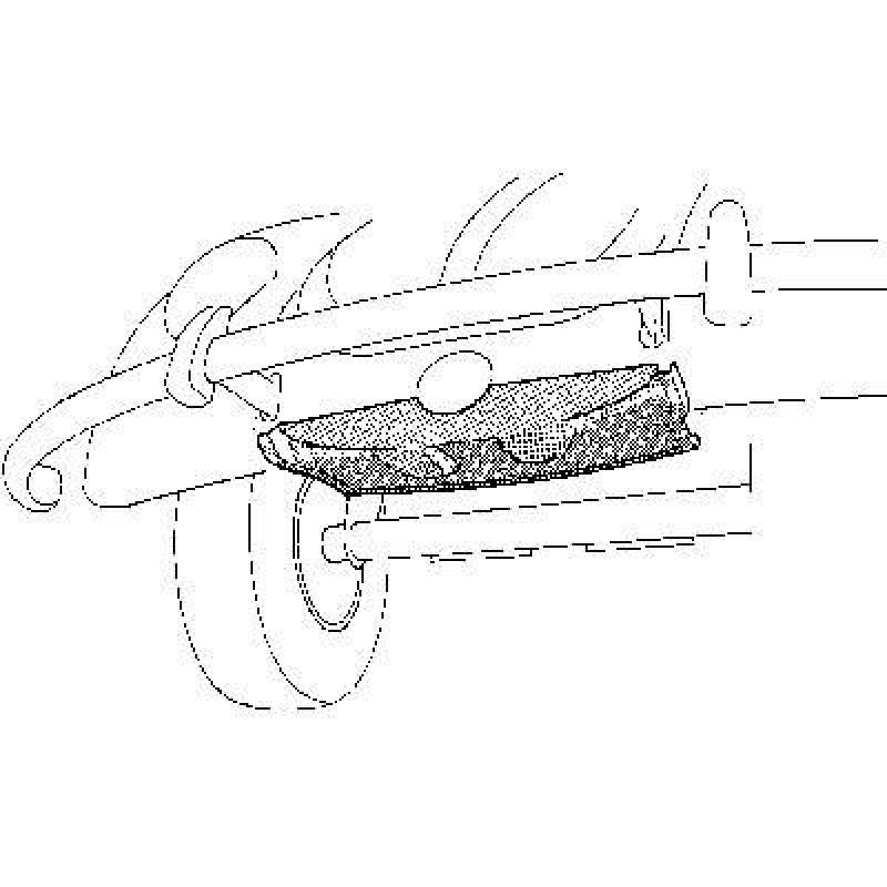 Pose roue de secours avant Volkswagen Coccinelle