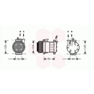 Compresseur de clim et compresseur air conditionné pour auto