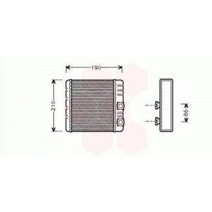 Radiateur chauffage auto : vente de radiateur de chauffage