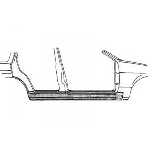 Bas de caisse gauche Nissan Sunny N14 de 02/1991 à 10/1995