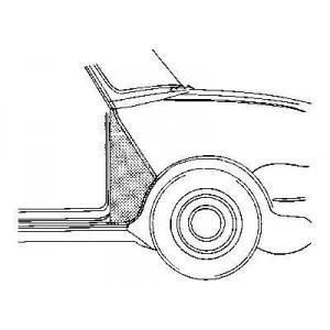 Aile avant auto : vente d'ailes avant pour voiture
