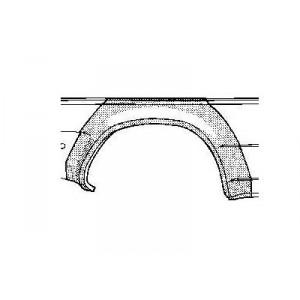 Arc d'aile auto : vente d'arcs d'aile pour voiture