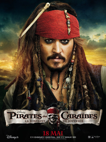 PIRATES DES CARAIBES 4 EN 3D