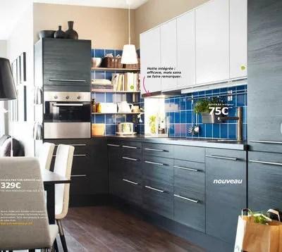 P Du Catalogue Ikea Cuisines Et Electromenager On Aime Ces Facades De Cuisine Ikea Gnosjo Motif Bois Noir Qui Offrent Une Belle Touche