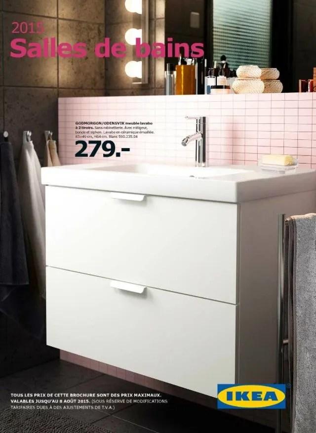 Salle De Bains Salle De Bain Ikea Avis Le Meilleur Du Catalogue Ikea L
