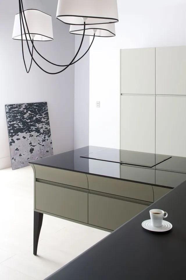 cuisine avec table intégrée