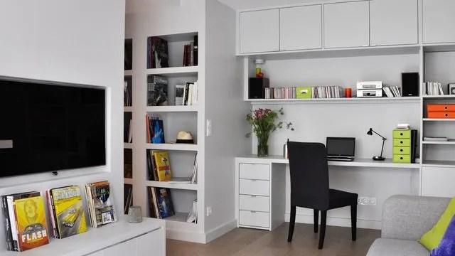 Rangement sur mesure pour petit appartement  Ct Maison