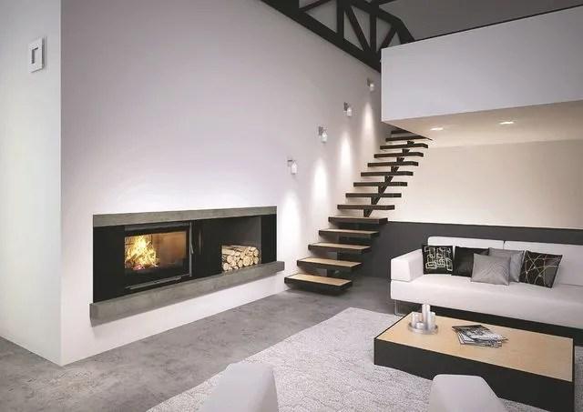 bois pour un salon moderne