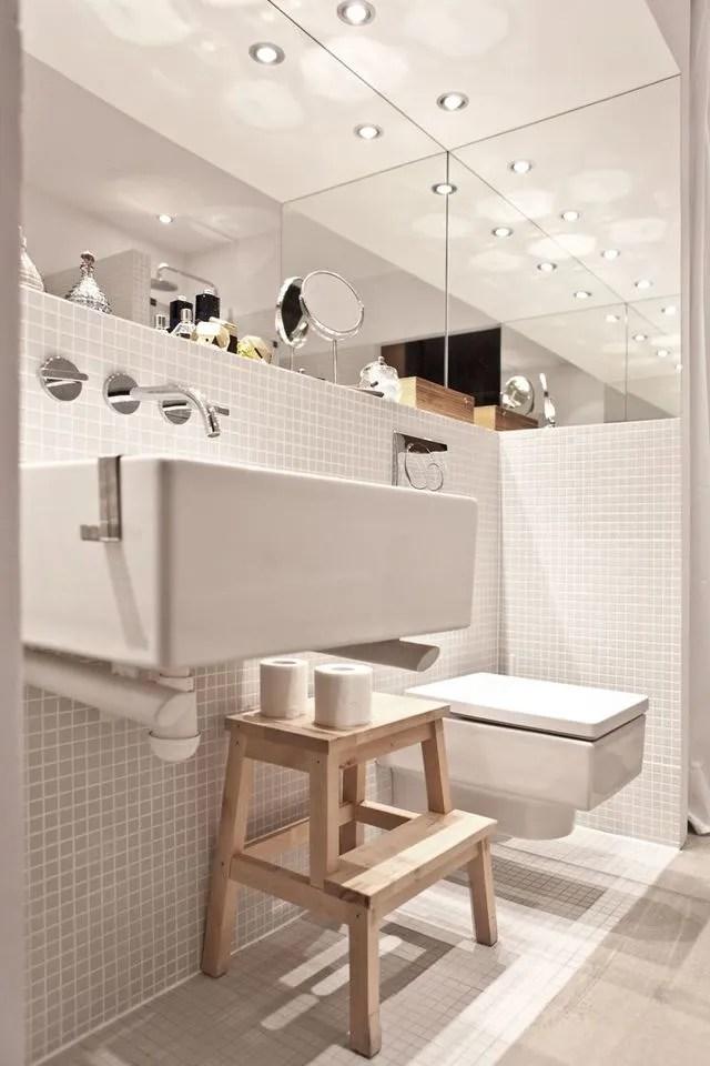 Deco wc blanc moderne  oui  la dco Harpic   Ct Maison