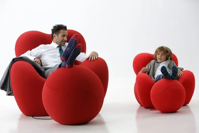 fauteuil design upj de b b italia une