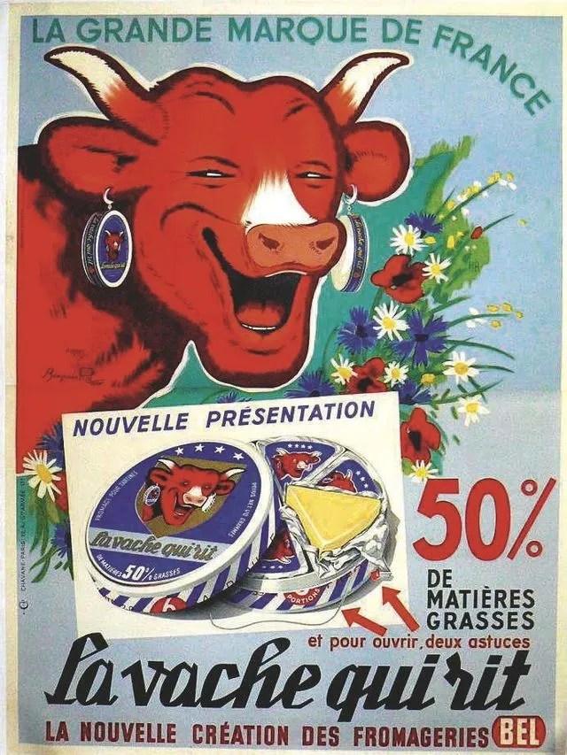 affiche publicitaire vintage notre