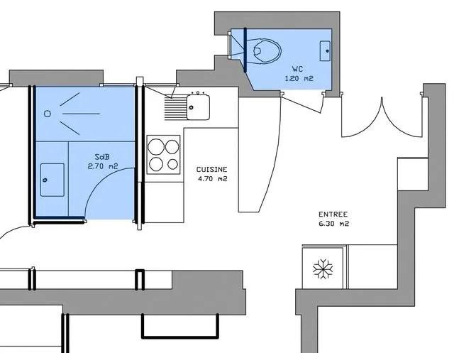 plan salle de bain plan salle d eau
