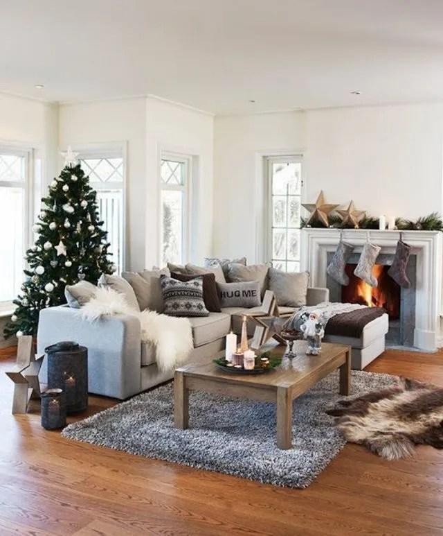 paris themed living room red modern déco noel maison : nos idées pour le salon - côté