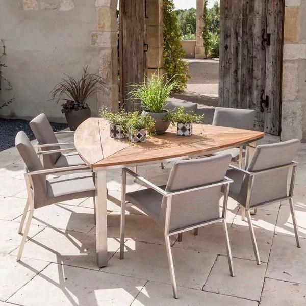 Table De Jardin Pliante En Bois En Teck Design