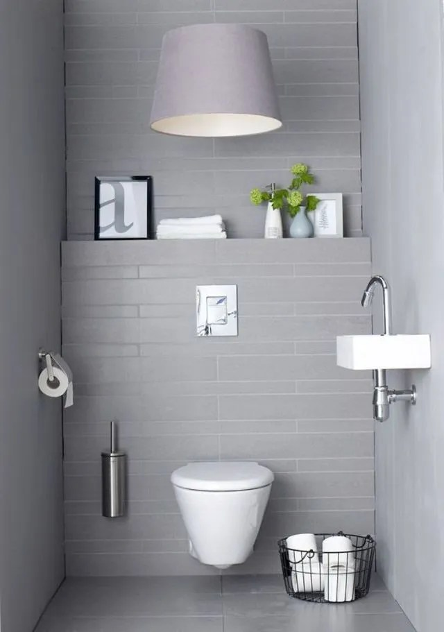 Ide dco WC  Ct Maison