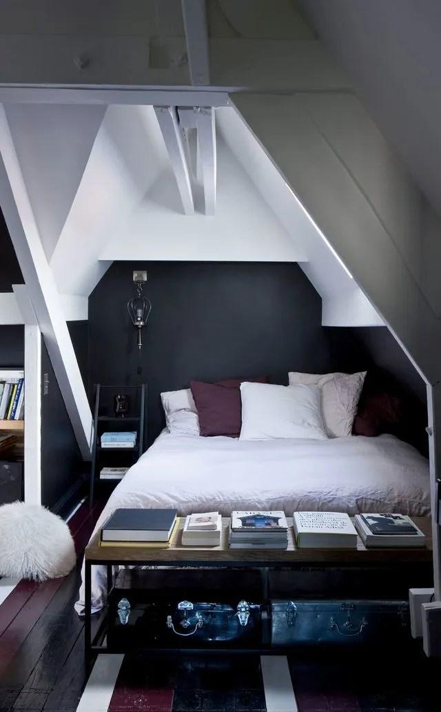 Chambre Sous Comble Moderne - Décoration de maison idées de design d ...