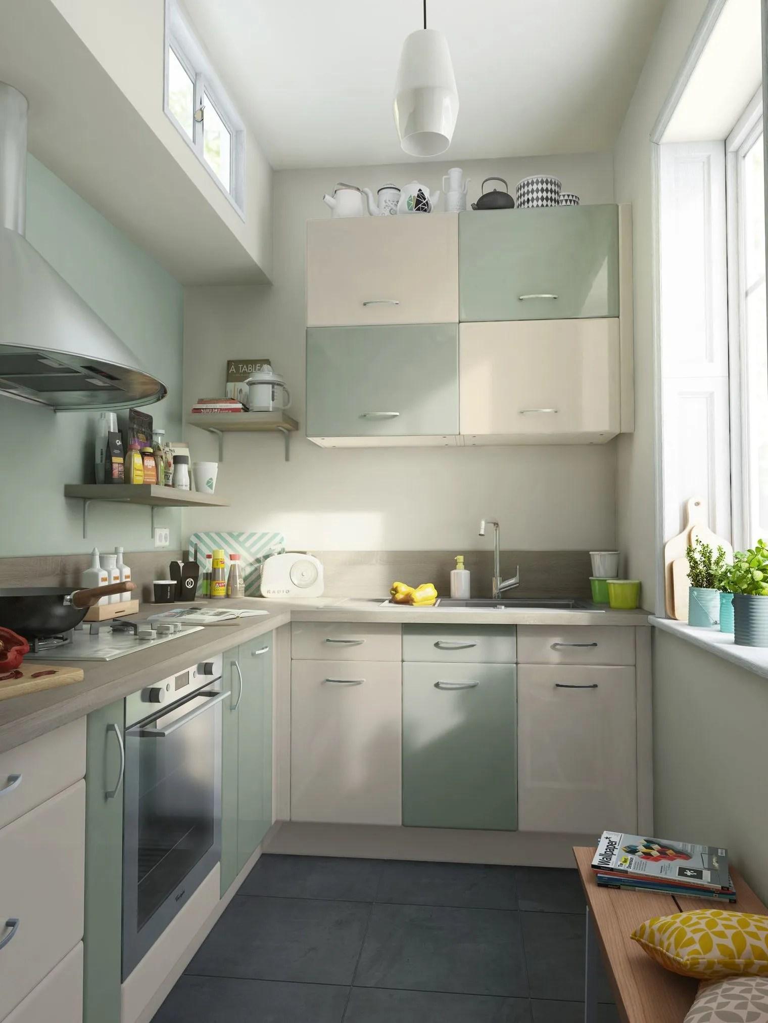 finest interesting good plan de cuisine en u pour nous changer les id c aes with petite cuisine. Black Bedroom Furniture Sets. Home Design Ideas